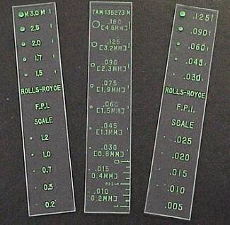 Transparent Crack Comparators