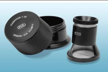 Flubacher 8X F+C Measuring Eyepiece